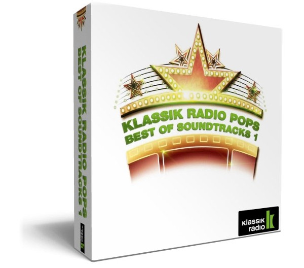 4er Geschenkbox Best of Soundtracks Vol. 1 von Klassik Radio