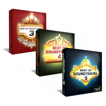 Best of Soundtracks Vol. 3-5 - drei 4er CD-Boxen im Set