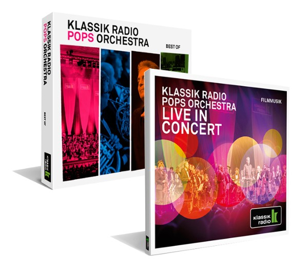 Klassik Radio live in Concert 2017 und Pops Orchestra - Best of im 2er CD Set