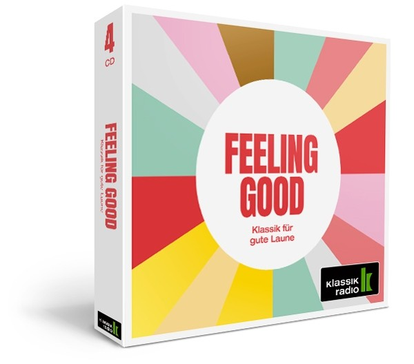 Feeling Good 4er-CD-Box von Klassik Radio