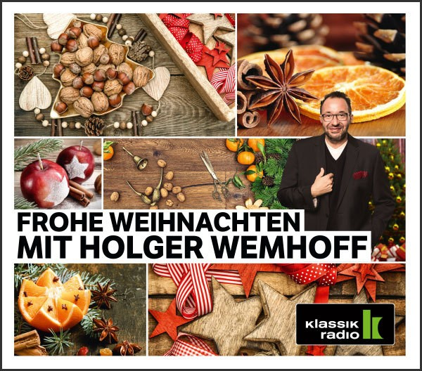 frohe weihnachten mit holger wemhoff klassik radio shop. Black Bedroom Furniture Sets. Home Design Ideas