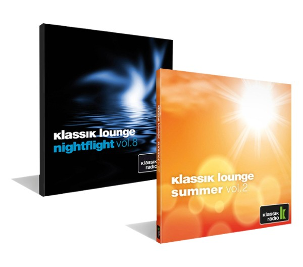 klassik lounge summer vol. 2 + nightflight vol. 8 im Set